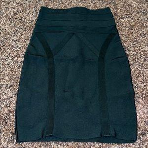 Bebe Bandage Bodycon Skirt